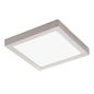 Preview: Eglo 32446 Fueva 1 LED Decken-/Wandleuchte 24W 30x30cm Nickel