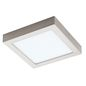 Preview: Eglo 94526 Fueva 1 LED Aufbauleuchte 16.47W Metallguss nickel-matt