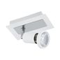 Preview: Eglo 94958 Sarria LED Spot 1x5W Stahl Weiss Chrom