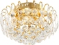 Preview: Globo 46635-4 Toulouse LED Deckenleuchte 12W Gold patiniert neutralweiss