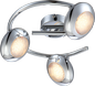Preview: Globo 56217-3 Gilles LED Deckenleuchte 15W Chrom warmweiss