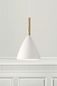 Preview: Nordlux Design for the People PURE Pendelleuchte Holz Weiss E27