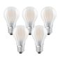 Preview: 5er-Pack OSRAM BASE E27 A LED Lampe 7W 806Lm 2700K warmweiss wie 60W