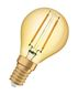 Preview: OSRAM Vintage 1906 E14 P Filament LED Lampe 1,4W 120Lm 2500K warmweiss wie 12W