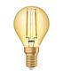 Preview: OSRAM Vintage 1906 E14 P Filament LED Lampe 2,5W 220Lm 2500K warmweiss wie 22W