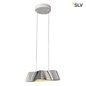Preview: SLV 1000644 WAVE 25 LED Pendelleuchte alu weiss 2000K-3000K Dim to Warm