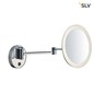 Preview: SLV 1001503 MAGANDA WL LED Outdoor Wandaufbauleuchte chrom IP44 3000K