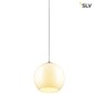 Preview: SLV 1002046 BIG SUN 30 PD Indoor Pendelleuchte E27 weiß max. 60W