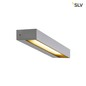 Preview: SLV 1002071 PEMA WL LED Outdoor Wandaufbauleuchte IP54 silber 3000K
