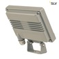 Mobile Preview: SLV 232864 SPOODI SENSOR LED Outdoor Wandaufbauleuchte 11W silbergrau 3000K