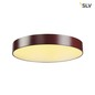 Preview: SLV 135126 MEDO 60 LED Deckenleuchte weinrot optional abpendelbar