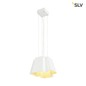 Mobile Preview: SLV 165441 SOBERBIA 31 LED Pendelleuchte weiss