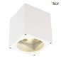 Preview: SLV 229551 BIG THEO CEILING OUT Deckenleuchte eckig weiss ES111 max. 75W