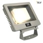 Mobile Preview: SLV 232884 SPOODI SENSOR LED Outdoor Wandaufbauleuchte 30W silbergrau 3000K