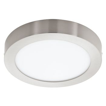 Eglo 32442 Fueva 1 LED Decken-/Wandleuchte 18W Ø22,5cm Nickel