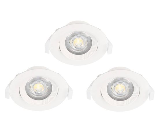 EGLO 32896 SARTIANO LED Deckenleuchte 3x5W 3000K warmweiss