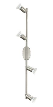 Eglo 92598 Buzz-led LED Spot 4x3W Stahl nickel-matt