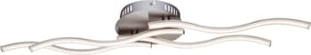 Globo 67000-14D Sarka LED Deckenleuchte 14W Nickel matt warmweiss