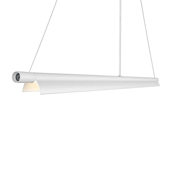 Nordlux Design for the People SPACEB LED Hängeleuchte Weiss 22W dimmbar 2200-3000K warmweiss einstellbar