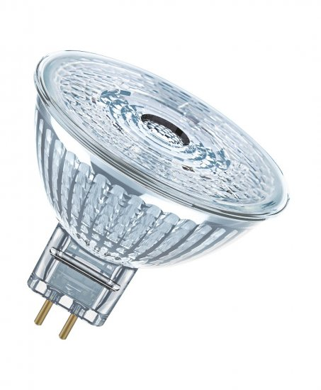 Osram GU5.3 LED Spot Superstar 5W 350Lm dimmbar warmweiss Glas