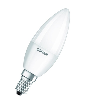 Osram 4er-Pack E14 LED Kerze Base 5,7W 470Lm Warmweiss
