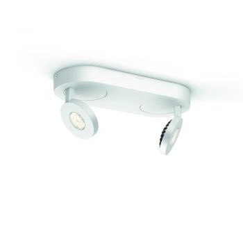 Philips LED InStyle Scope Deckenleuchte 2x4.5W weiss 57182/31/16