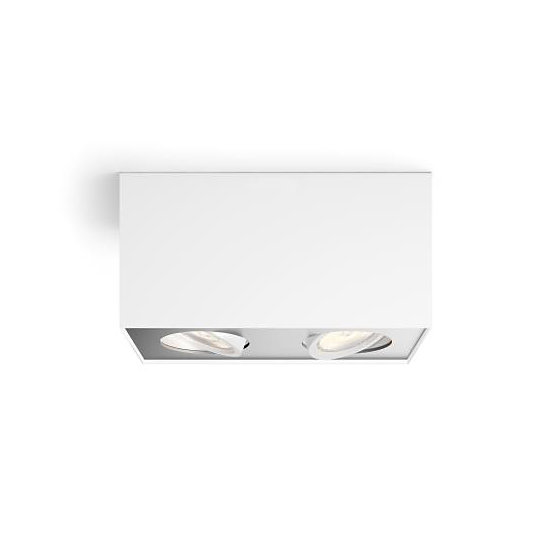 Philips myLiving Box LED Deckenleuchte WarmGlow dimmbar 2x45W Warmweiss 5049231P0