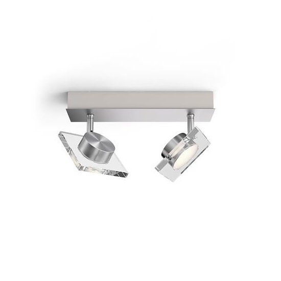 Philips myLiving Golygon LED Deckenleuchte WarmGlow dimmbar 2x45W Warmweiss 5048217P0