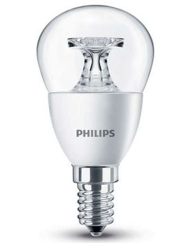 Philips E14 LED Tropfen CorePro 5.5W 470Lm warmweiss