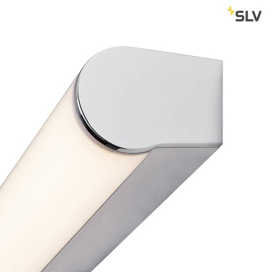SLV 1002190 MARYLIN LED Outdoor Wandaufbauleuchte chrom IP44 3000K 10W