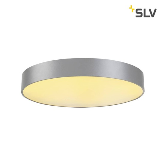 SLV 135124 MEDO 60 LED Deckenleuchte silbergrau optional abpendelbar