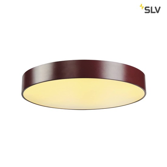 SLV 135126 MEDO 60 LED Deckenleuchte weinrot optional abpendelbar