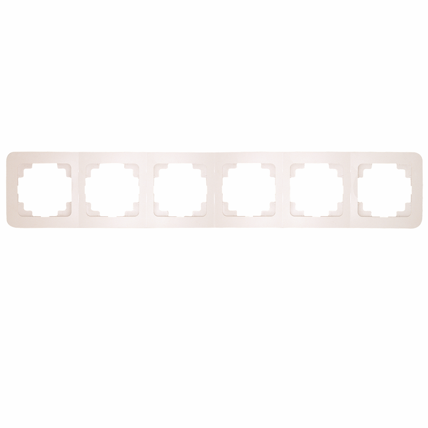 Makel Lilium Natural 2-fach Rahmen horizontal weiss