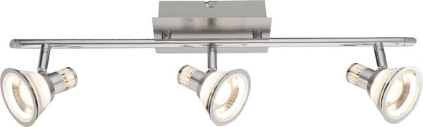 Globo 56956-3 Takiro LED Deckenleuchte 15W Nickel matt warmweiss