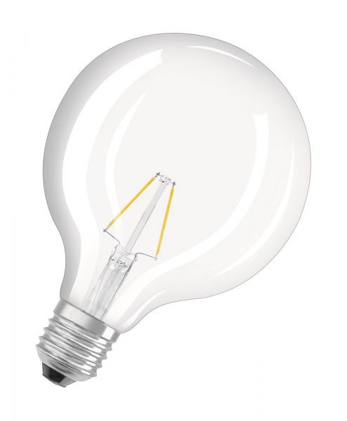 Osram E27 LED Globe Retrofit Filament 2W 250Lm warmweiss