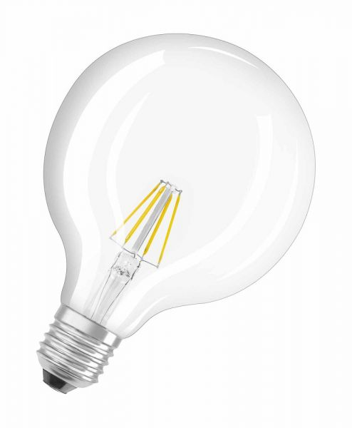Osram E27 LED Globe Filament 4W 470Lm warmweiss