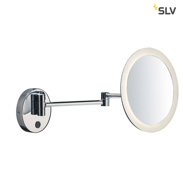 SLV 1001503 MAGANDA WL LED Outdoor Wandaufbauleuchte chrom IP44 3000K