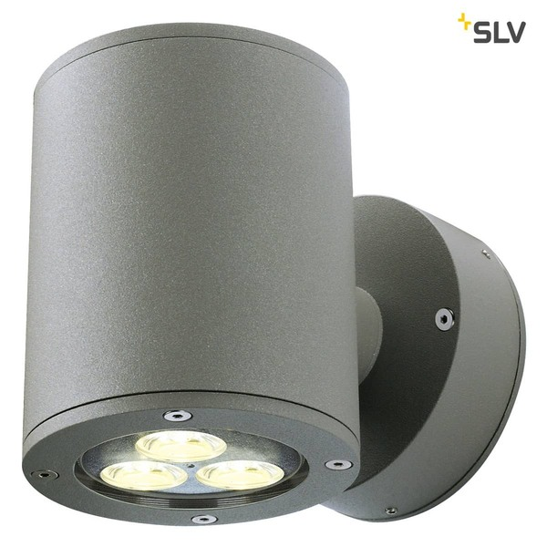 SLV 230365 SITRA WALL UP-DOWN Wandleuchte anthrazit 2xGX53 max. 2x9W IP44