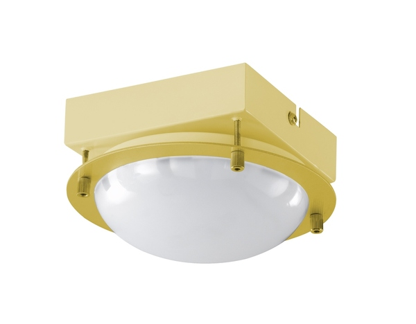Wofi Toulouse LED Deckenleuchte 21,6W Messing-matt