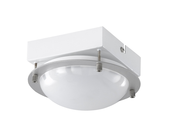Wofi Toulouse LED Deckenleuchte 21,6W Nickel-matt