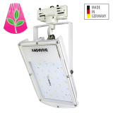 Bioledex GoLeaf A1T 3-Phasen Schienenleuchte LED Pflanzenleuchte 28W S2 - Hohes Stammwachstum, Vollspektrum Grow-Light