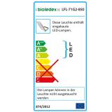 Bioledex ASTIR LED Fluter 70W 120° 6440Lm 4000K Grau