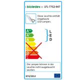 Bioledex ASTIR LED Fluter 70W 70° 5950Lm 4000K Grau