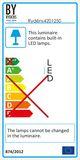 By Rydens Hängeleuchte Hayden LED L75cm gold LED 1360 Lumen 2700K warmweiss 4201250-6501