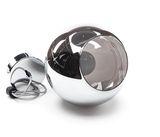 Deko-Light Pendelleuchte Diphda, E27, max. 60W, Glas, farblos, verspiegelt 342119