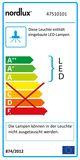 Nordlux CLYDE LED Einbauleuchte Weiss 12W 800Lm 2700K warmweiss