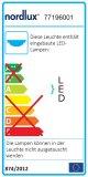 Nordlux LED Deckenleuchte Alba 12W Ø30cm weiss schwenkbar