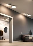 Nordlux Design for the People ALBA LED Deckenleuchte Weiss 14W 1000Lm 2700K warmweiss