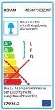 Osram Endura Style Classic Up LED Wandleuchte 29cm 10W IP44 weiss