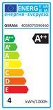 5er-Pack OSRAM BASE GU10 PAR16 LED Strahler 3,6W 350Lm 36° 2700K warmweiss wie 50W